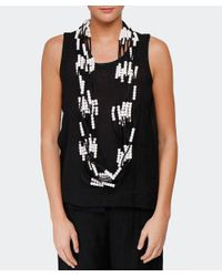 Jianhui - White Textile Multi Strand Necklace - Lyst