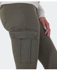 7 For All Mankind Natural Skinny Cargo Pants