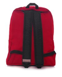 Napapijri Red Expedition Voyage Backpack for men