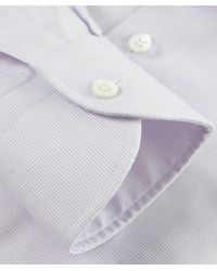 Corneliani - Purple Textured Slim Fit Shirt for Men - Lyst