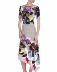 Preen By Thornton Bregazzi Gray Rey Dress