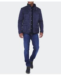Barbour - Blue Ariel Polar Quilted Jacket for Men - Lyst