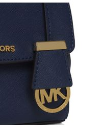 MICHAEL Michael Kors - Blue Ava Small Crossbody Bag - Lyst