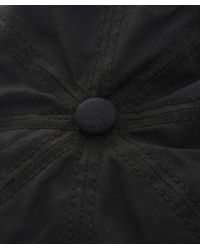 Stetson - Black Hatteras Waxed Cap for Men - Lyst
