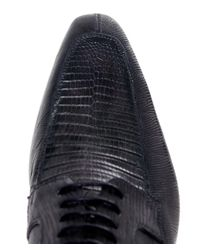 Magnanni Shoes - Gray Lace Up Snake Shoes for Men - Lyst