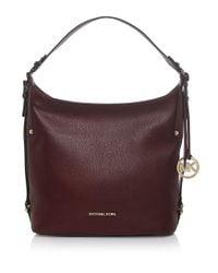 MICHAEL Michael Kors - Purple Bedford Belted Shoulder Bag - Lyst