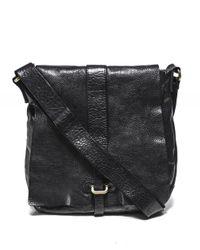 Leather Shoulder Bag Campomaggi pour homme en coloris Black