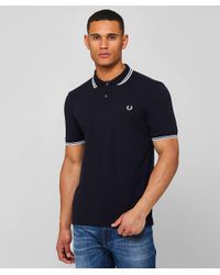 Twin Tipped M3600 Polo Shirt Fred Perry pour homme en coloris Blue