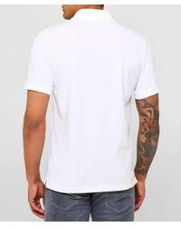 Jacob Cohen White Pique Cotton Polo Shirt for men