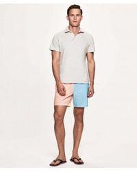 Striped Colour Block Swim Shorts Hackett pour homme en coloris Blue