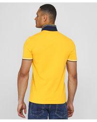 BOSS Yellow Slim Fit Paul Polo Shirt for men