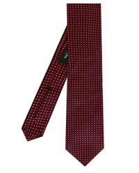 Ascot Accessories - Red Silk Patterned Tie for Men - Lyst