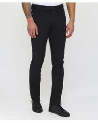 Armani Black J45 Slim Fit Jeans for men