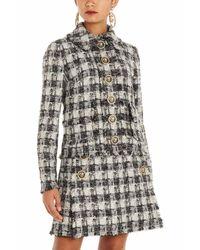 Giacca tweed di Dolce & Gabbana in Multicolor