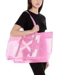 Shopping logo di Off-White c/o Virgil Abloh in Pink