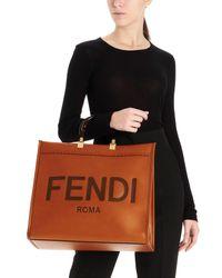 Shopping 'Sunshine' di Fendi in Brown