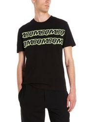 McQ Alexander McQueen Black Logo T-shirt for men