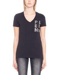 Philipp Plein - Black 'back Up' T-shirt - Lyst