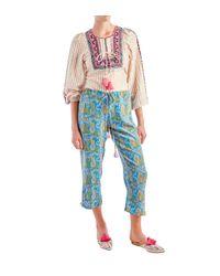 Figue - Blue Goa Paisley Pants - Lyst