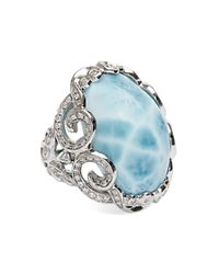Venyx Larimar Yemanja Blue Ring