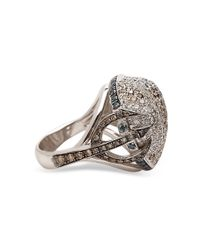Madstone Metallic Poseidon Diamond Ring