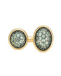 VRAM Jewelry - Multicolor 2tau Green Sapphire Ring - Lyst
