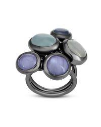 VRAM Jewelry - Metallic Star Sapphire Ring - Lyst