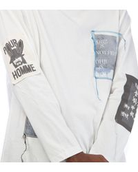 Yohji Yamamoto Multicolor Long Sleeve T-shirt for men