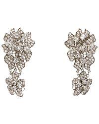 Wilfredo Rosado - White Lace Drop Earrings - Lyst
