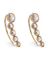 Noor Fares - Gray Tilsam Opal Cabochon Earrings - Lyst