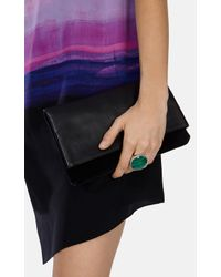 Karen Millen | Semi Precious Statement Ring - Green | Lyst
