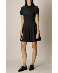 Karen Millen - Polo Dress - Black - Lyst