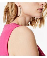 Karen Millen - Metallic Crystal Sprinkle Earrings - Gold Colour - Lyst