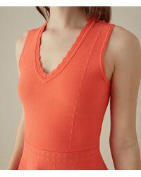 Karen Millen Multicolor Fit And Flare Dress