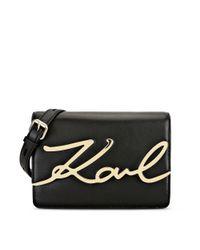 Karl Lagerfeld Black K/signature Shoulderbag