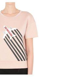 Karl Lagerfeld Pink Fly With Karl Neoprene Top