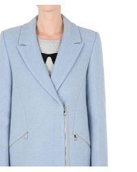 Karl Lagerfeld Blue Masculine Coat