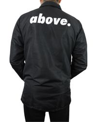 Above.Millions - Black The Coaches Jacket for Men - Lyst