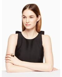 Kate Spade - Black On The Rocks Cluster Ring - Lyst