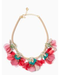 Kate Spade - Multicolor Vibrant Life Statement Necklace - Lyst