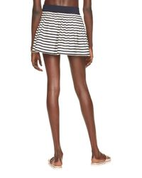 kate spade new york - Blue Nahant Shore Pleated Skirt Cover Up - Lyst