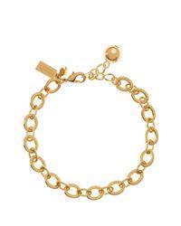 kate spade new york | Metallic Charm Link Bracelet | Lyst