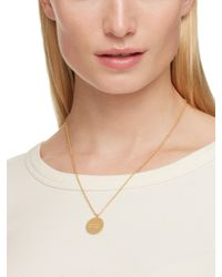 Kate Spade - Metallic Say Yes Partners In Crime Pendant - Lyst