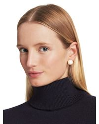 kate spade new york - Metallic Dainty Sparklers Bow Reversible Earring - Lyst