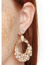kate spade new york - Metallic At First Blush Statement Earrings - Lyst