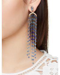 kate spade new york | Blue Sun Kissed Sparkle Statement Earrings | Lyst