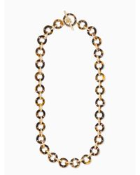 Kate Spade Black Out Of Her Shell Long Necklace