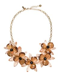 kate spade new york | Multicolor Blooming Brilliant Statement Necklace | Lyst