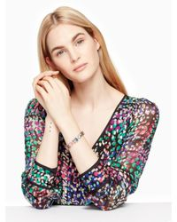 Kate Spade - Blue Color Crush Bracelet - Lyst