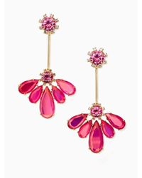 kate spade new york - Multicolor Color Crush Drop Earrings - Lyst